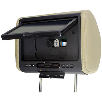 """Audiovox AVXMTGHR9HD 9"""" Headrest Monitor system w/ DVD Player, HDMI/MHL Input - Used Very Good"""