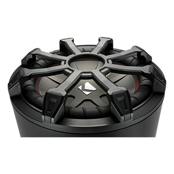 Kicker 46CWTB84 TB8 8-inch Loaded Weather-Proof Subwoofer Enclosure w/Passive Radiator - 4-Ohm, 300 Watt