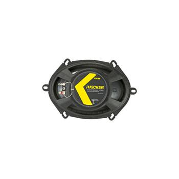 Kicker 46CSC684 CS-Series CSC68 6x8-Inch (160x200mm) Coaxial Speakers, 4-Ohm (Pair)