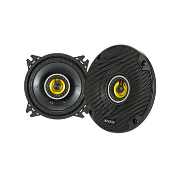 Kicker 46CSC44 CS-Series CSC4 4-Inch (100mm) Coaxial Speakers, 4-Ohm (Pair)