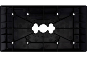Wet Sounds MC-UAP Universal Adaptor Plate Covers Single DIN Opening for MC-MD