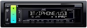 JVC KD-R890BT Refurbished Compatible with Bluetooth / USB / Pandora / iHeartRadio / Spotify / 13-Band EQ