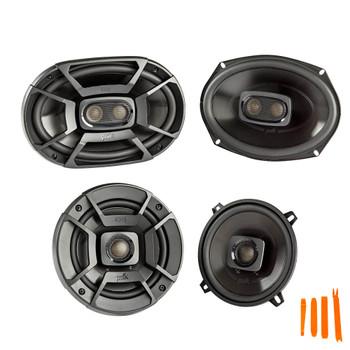 "Polk Audio for Dodge Ram Truck 1994-2011 - Polk DB692 6X9"" and DB522 5.25"" Coaxial Speakers Bundle"