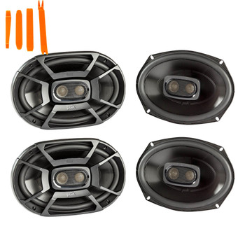 "Polk Audio - Two Pairs Of DB692 6x9""Coaxial Speakers - Marine and Powersports Certification"
