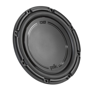 "Polk Audio -Two DB1242SVC 12"" Single 4-Ohm Voice Coil Subwoofers, Bundle - Marine Certified"