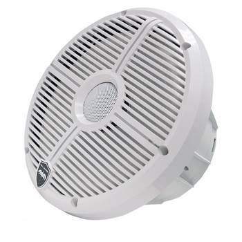 """Wet Sounds - Four Pairs Of RECON 8-XWW-RGB 8"""" Coaxial Speakers w/ White XW Grilles, Integrated RGB LEDs"""