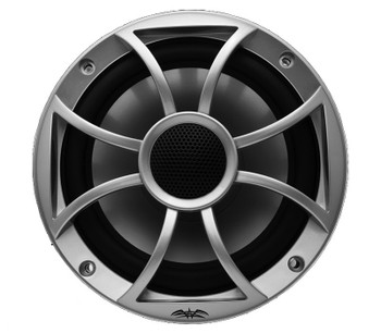 "Wet Sounds - Three Pairs Of RECON6-S Recon Series 6.5"" 60-Watt RMS Coaxial Speakers With Silver XS Grilles And Cones"