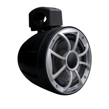 Wet Sounds - Two Pairs Of RECON 6 POD-B - Wet Sounds 6.5 Inch Tower Speakers, Black Enclosures with Silver XS Grilles