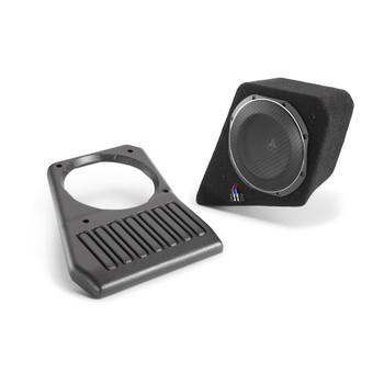 JL Audio SB-J-JL4DPAS/10TW1-2: Passenger Side - 2 Ω Stealthbox for 2018-Up Jeep Wrangler Unlimited