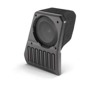 JL Audio SB-J-JL4DPAS/10TW1-4: Passenger Side - 4 Ω Stealthbox for 2018-Up Jeep Wrangler Unlimited