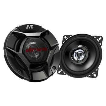 "JVC 4"" DRVN CS-DR421 220W Peak (35W RMS) 4"" 2-way DRVN Series Coaxial Factory Upgrade Car Speakers (Pair)"