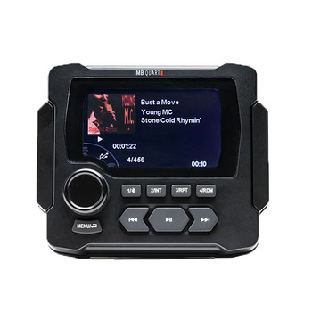 MB Quart GMR-LED 160 Watt Powered OFF-ROAD & Marine Multimedia Source Unit
