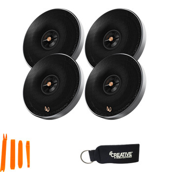 Infinity - Includes Two Pairs Of PR6512IS Primus 6.5 Inch 2-way Multi-Element Speakers