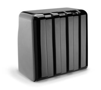 JL Audio FS110-W5-SG-TB:Single M10W5 Fiberglass Sealed Enclosure Titanium Sport Grille 4 Ω