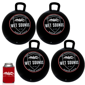 Wet Sounds - Four Pack Of WS-BABz Bumper Buoy Ball