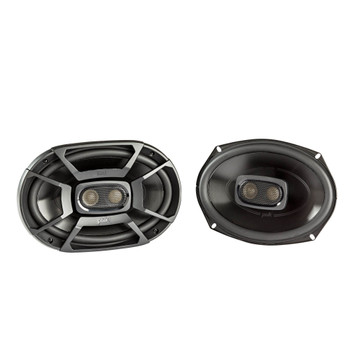"""Polk Audio Bundle - Two Pairs Of DB692 6x9"""" Speakers, PA D4000.4 Amplifier & Wire Kit"""