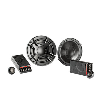 """Polk Audio Bundle - A Pair Of DB6502 6.5"""" Components, A Pair Of DB462 4x6"""" Speakers , PA D4000.4 Amplifier & Wire Kit"""