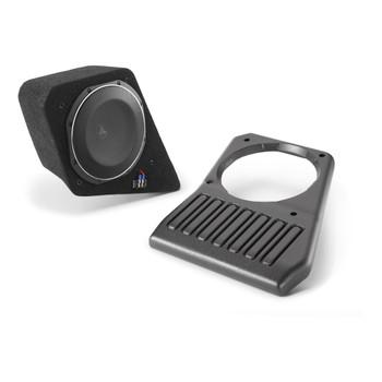 JL Audio SB-J-JL4DDRV/10TW1-4: Driver Side - 4 Ω Stealthbox for 2018-Up Jeep Wrangler Unlimited