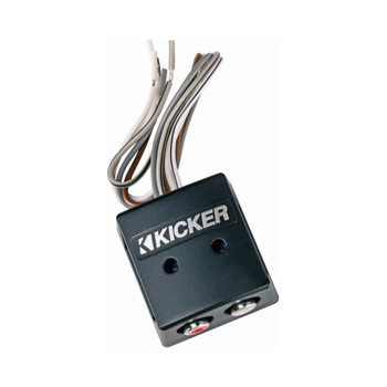 Kicker 46KISLOC K-Series Interconnect, Speaker To Rca W/ Line-Out Converter