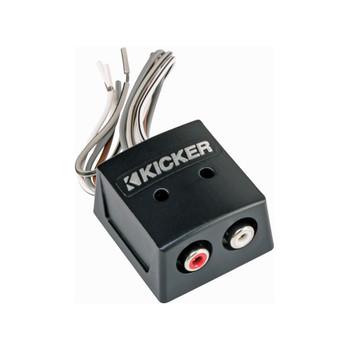 Kicker 46KISLOC K-Series Interconnect, Speaker To Rca W/ Line-Out Converter