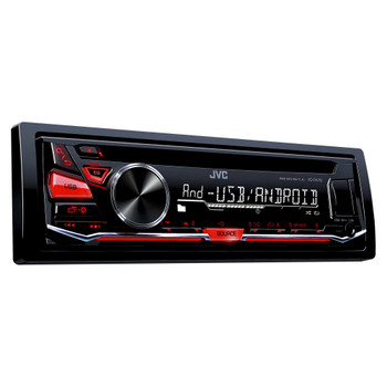 JVC KD-R470 CD Receiver with Front USB/AUX Input
