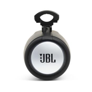 "JBL MT8HLB 8"" RGB LED Marine Tower Speakers, and a Kicker KMLC LED Controller"