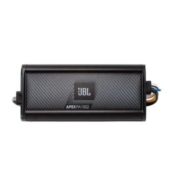 JBL Apex PA 1502 300 Watt RMS 2 Channel Marine & Powersport Amplifier - 150 x 2 At 2-Ohms