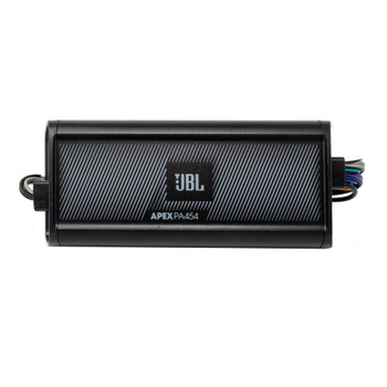 JBL Apex PA 454 180 Watt RMS 4 Channel Marine & Powersport Amplifier - 45 x 4