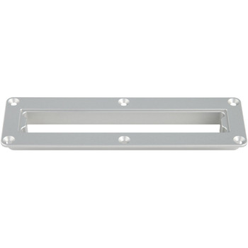 Wet Sounds Billet WS420-SQ In Dash Mount  - Silver