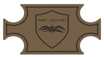 Wet Sounds SHIVR-55 Cooler GatorStep Full Skin Kit - Whisky Over Black