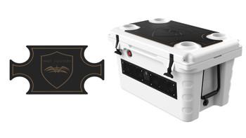 Wet Sounds SHIVR-55 Cooler GatorStep Top Skin Kit - Black Over Whiskey