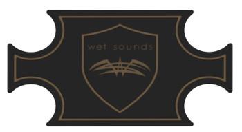 Wet Sounds SHIVR-55 Cooler GatorStep Full Skin Kit - Black Over Whiskey