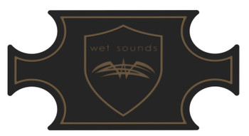 Wet Sounds SHIVR-55 Cooler GatorStep Full Skin Kit - Black Over Whiskey