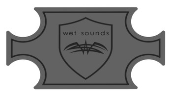 Wet Sounds SHIVR-55 Cooler GatorStep Full Skin Kit - Gray Over Black