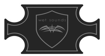 Wet Sounds SHIVR-55 Cooler GatorStep Full Skin Kit - Black Over Gray