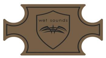 Wet Sounds SHIVR-55 Cooler GatorStep Top Skin Kit - Whisky Over Black