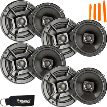 """Polk Audio - Four Pairs Of DB652 6.5"""" Coaxial Speakers - Marine and Powersports Certification"""