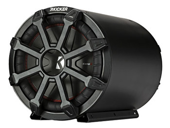 Kicker TB10 10-inch (25cm) Subwoofer and Passive Radiator in Weather-Proof Enclosure, 2-Ohm