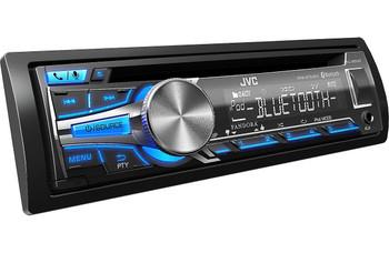 JVC Refurbished CD Receiver KD-SR80BT: Bluetooth, iHeart Radio, Pandora