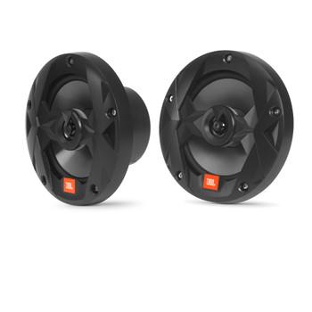 JBL MS65B OEM Replacement Marine 6.5 Inch Two-way Speakers - Eight Speakers, Black
