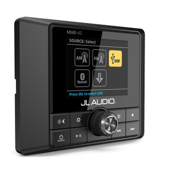 JL Audio MMR-40 Full-function, NMEA 2000 network wired remote controller with full color LCD display - Open Box