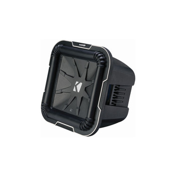 Kicker L710 Q-Class 10-Inch (25cm) Square Subwoofer, Dual Voice Coil 2-Ohm - Used Very Good