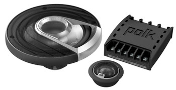 "Polk MM6502 6.5"" Front Component and Rear MM572 5x7"" Coax Speaker System Bundle Includes 2 Pair"