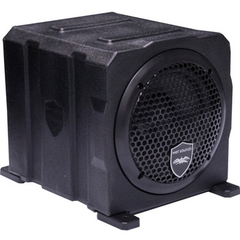 Wet Sounds Stealth AS-6 250 Watts Active Subwoofer Enclosure - Used Acceptable