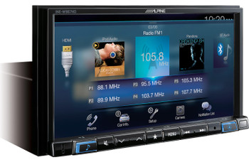 "Alpine INE-W967HD 7"" Audio/Video/Nav Receiver - Used Acceptable"