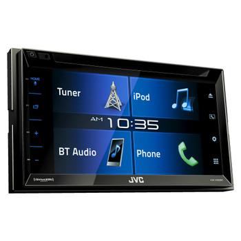 """JVC KW-V330BT 6.8"""" Double DIN Bluetooth In-Dash DVD/CD/AM/FM/Digital Media Car Stereo"""