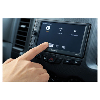 """Sony XAV-AX1000 6.2"""" (15.7 cm) compatible with CarPlay Media Receiver with Bluetooth - Open Box"""