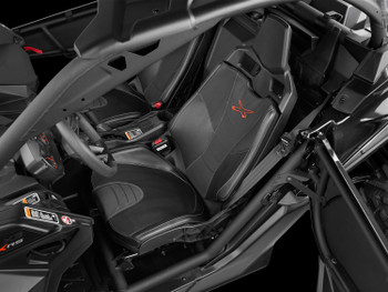 """JL Audio Stealthbox® for 2017-2018 Can-Am Maverick X3 2-Seat with 10"""" TW3 - Passenger Side"""