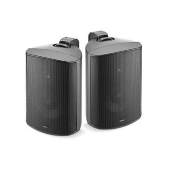 """Focal 100 OD6 6.5"""" Outdoor Loudspeakers, IP66 Rated - Black Pair, 2 Speakers"""