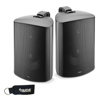 """Focal 100 OD8 8"""" Outdoor Loudspeakers, IP66 Rated - Black Pair, 2 Speakers"""